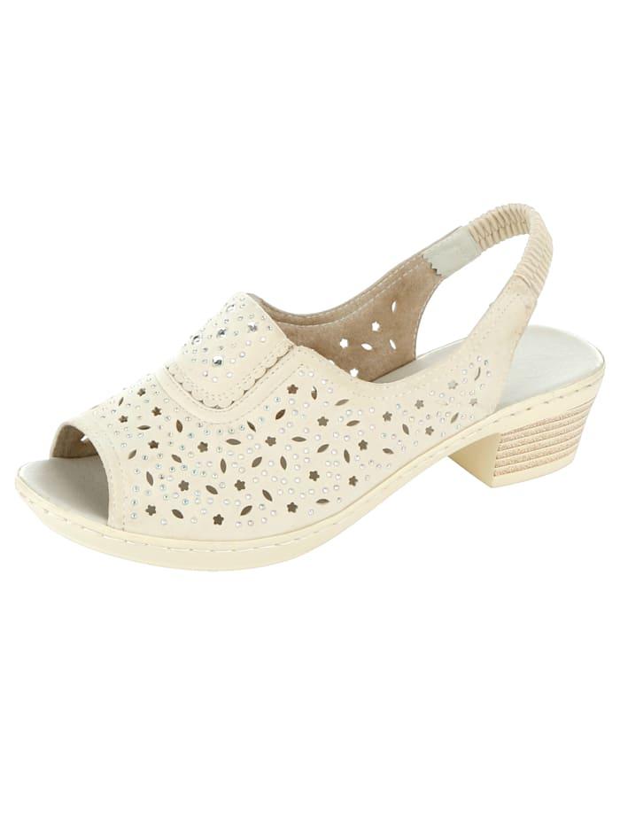 Sandaaltje Julietta Crème