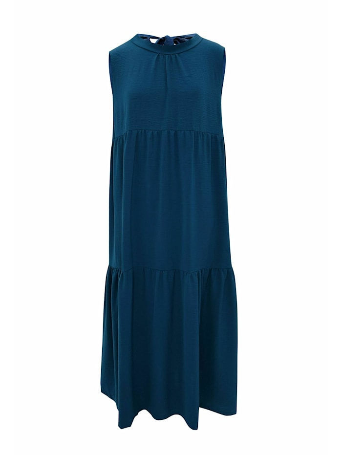 wisell - Sommerkleid Sommerkleid mit Schleife im Rücken  türkisblau