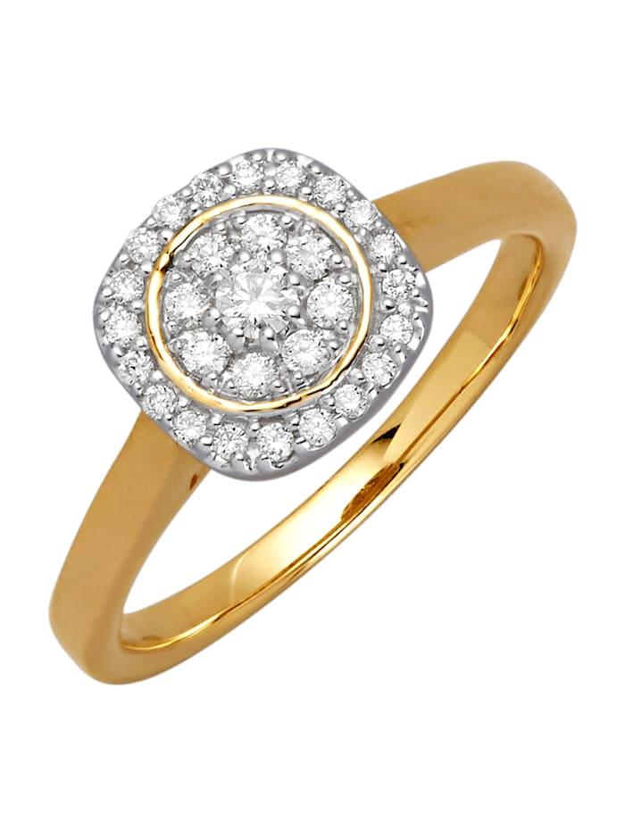 Damesring Diemer Diamant Wit