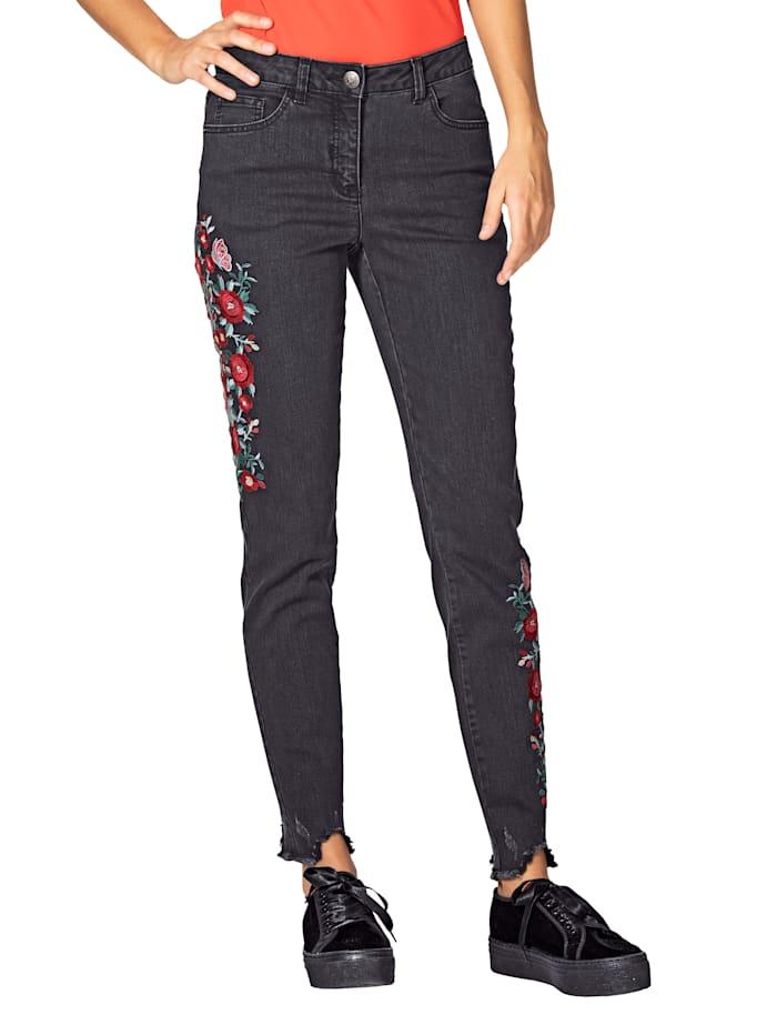 7/8-jeans AMY VERMONT Zwart