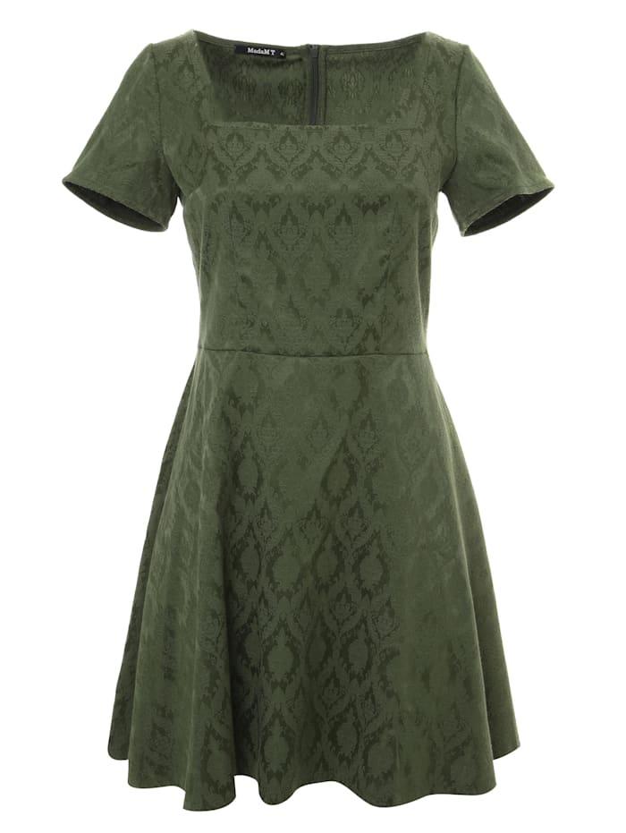madam-t - Cocktailkleid Kleid Agava  grün