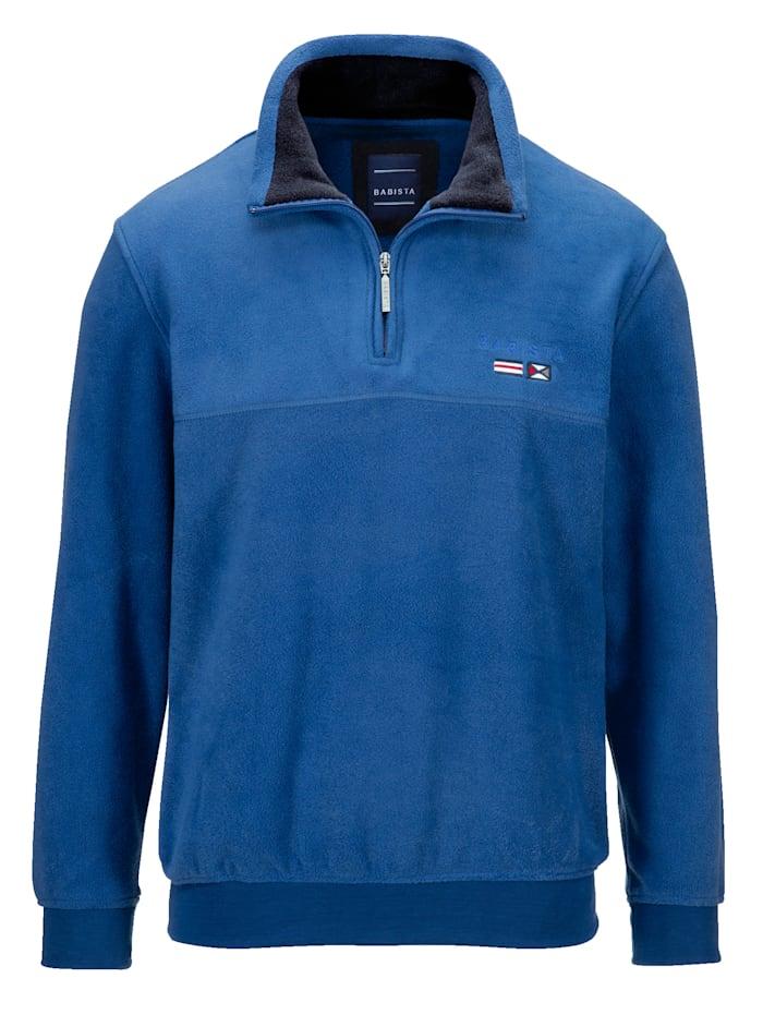 Fleece trui BABISTA Blauw