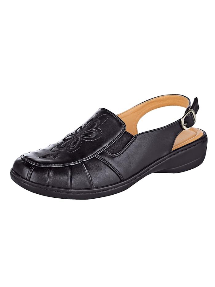 Sandaaltje Julietta Zwart