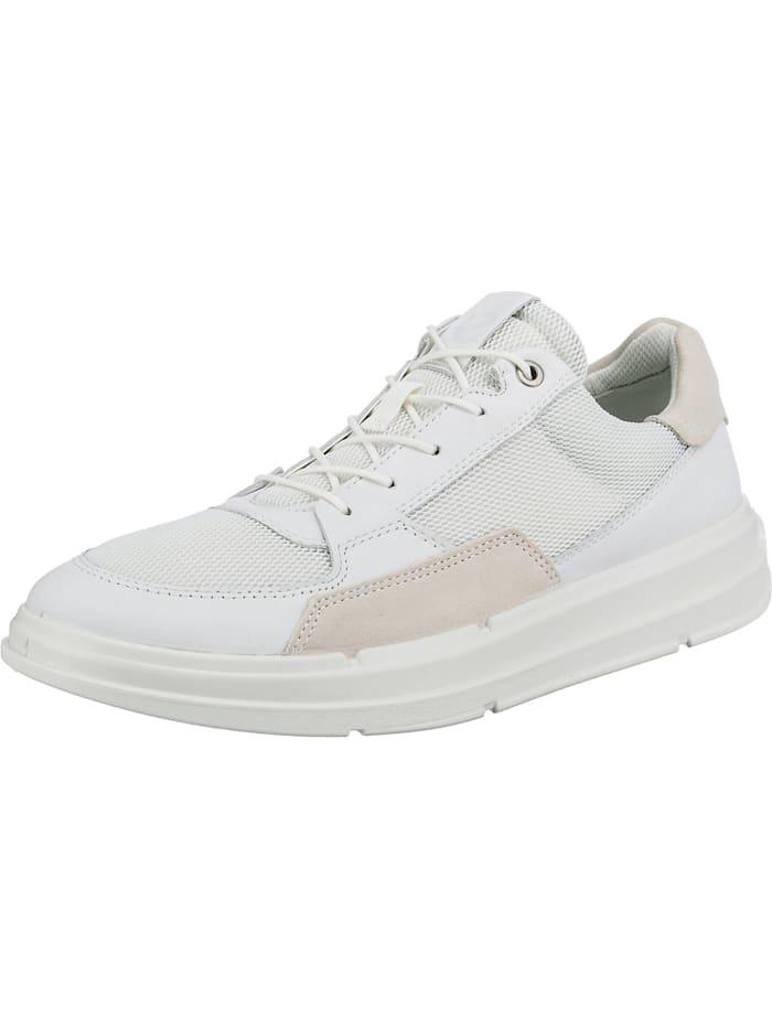 ecco -  Soft X M Sneakers Low  weiß