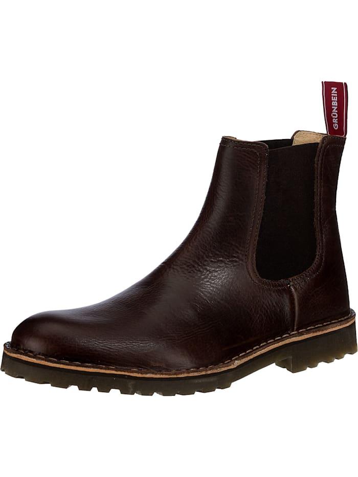 grünbein - Juri Tr Chelsea Boots  dunkelbraun