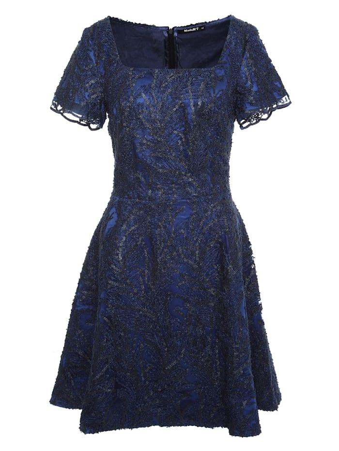 madam-t - Cocktailkleid Agava  blau