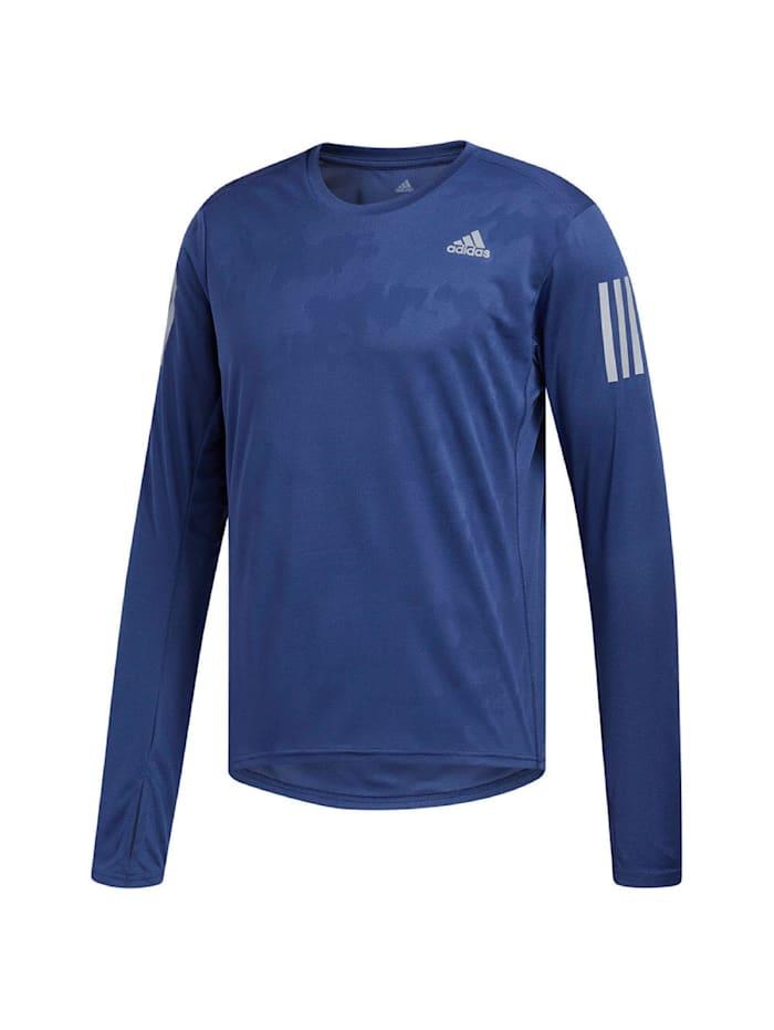 adidas performance -  Shirt RS LS Tee  Blau