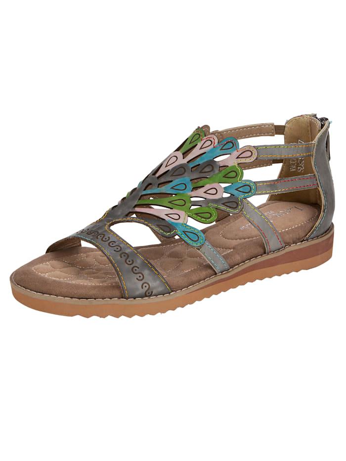 Sandaaltje Laura Vita Grijs::Multicolor