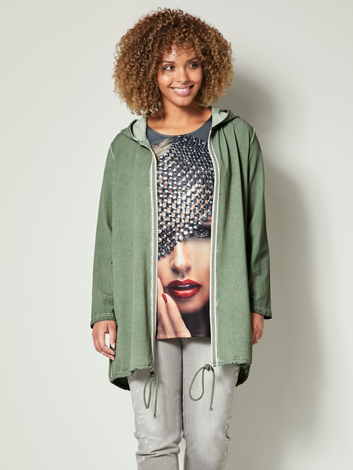angel of style - Sweatjacke  Oliv