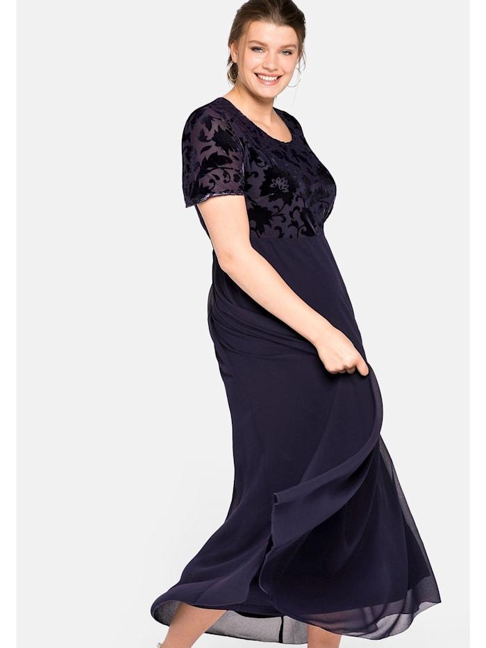 sheego -  Abendkleid  dunkellila