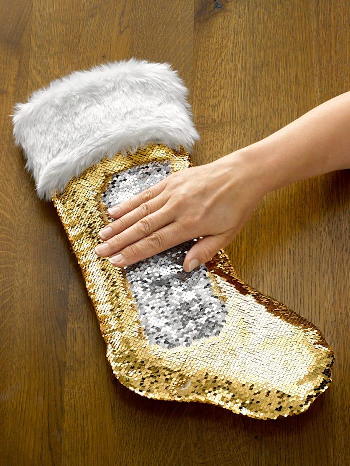 Chaussettes de Noël KLiNGEL Or