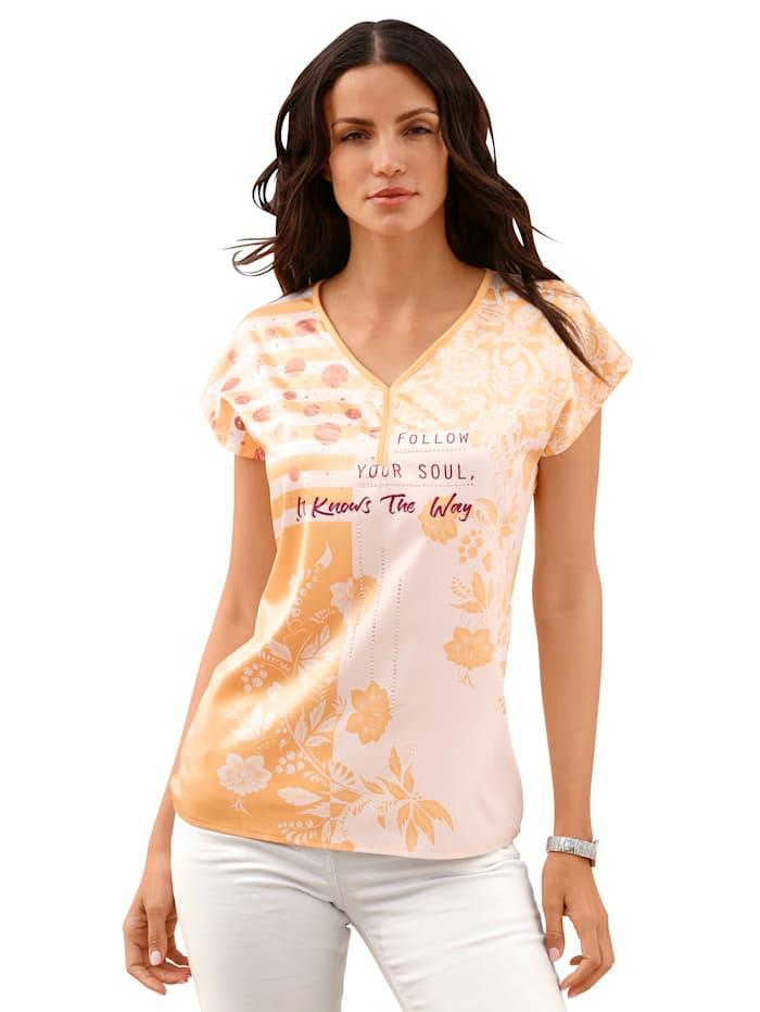 Shirt AMY VERMONT Geel