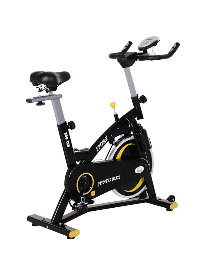 Fahrradtrainer mit stufenlosem Magnetwiderstand HOMCOM schwarz