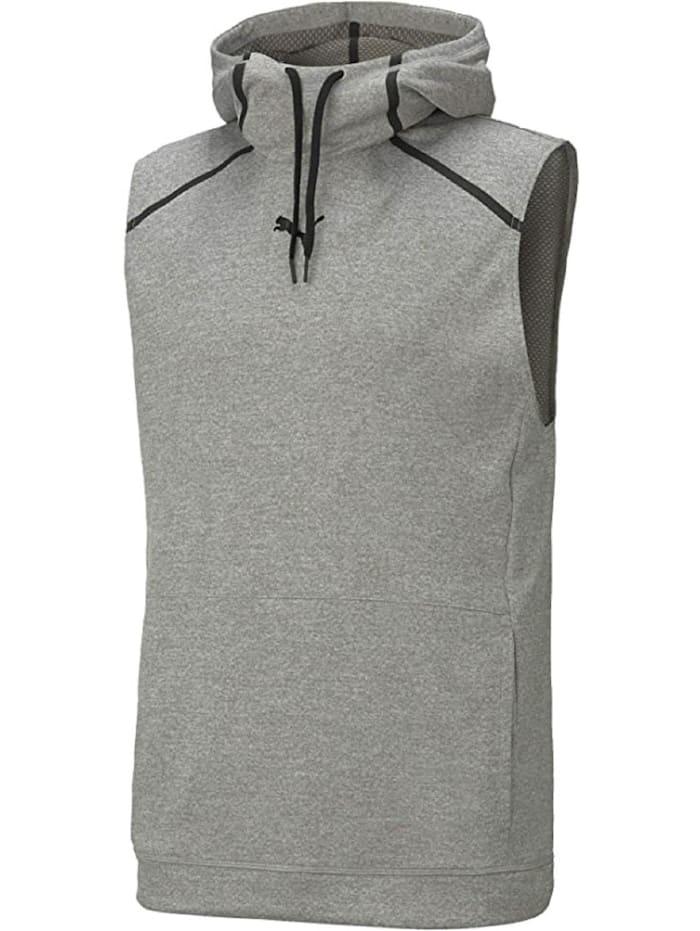 puma -  Hoodie Tech Knit SLVS  Grau