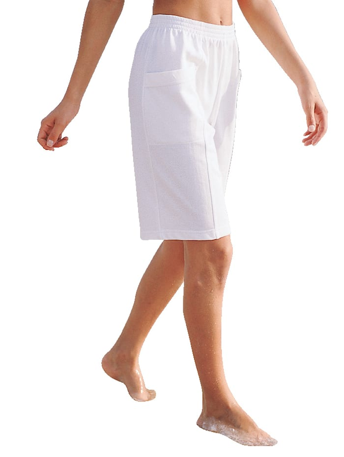 Bermuda Dress In Wit