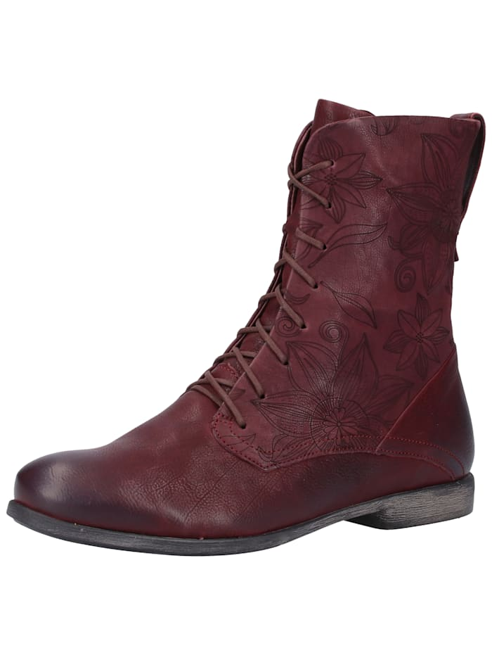 think! -  Stiefelette  Rot