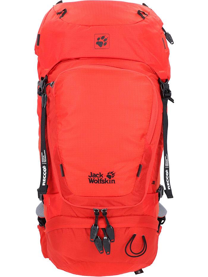 jack wolfskin - Orbit 26 Pack Recco Rucksack 62 cm  lava red