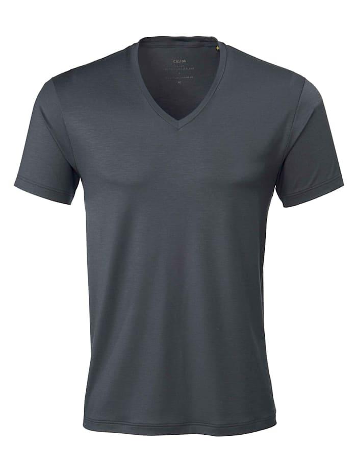 calida - T-Shirt, V-Neck  ombre