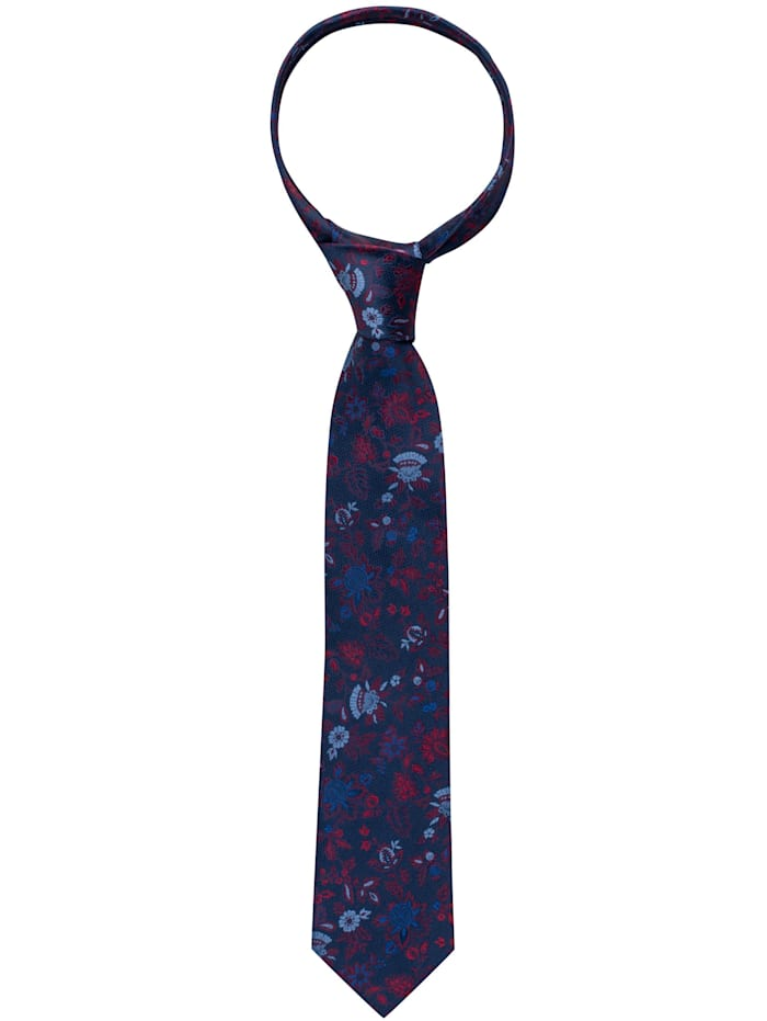eterna -  Krawatte breit  rot/blau