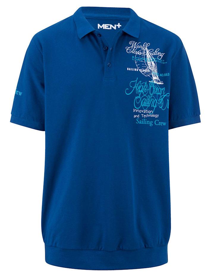 Poloshirt Men Plus Royal blue