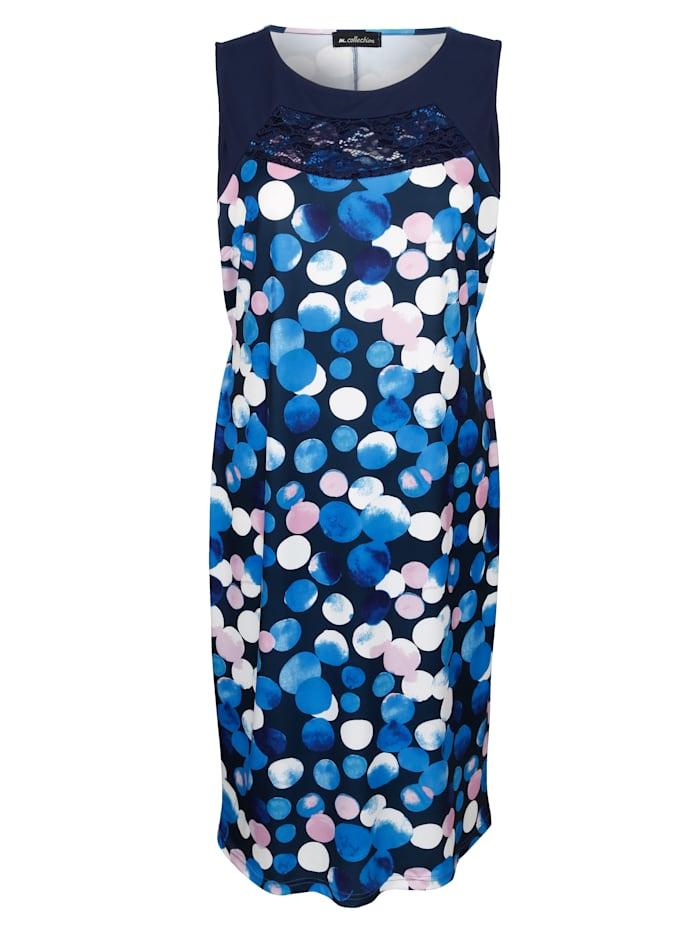 m. collection - Kleid  Marineblau::Lila