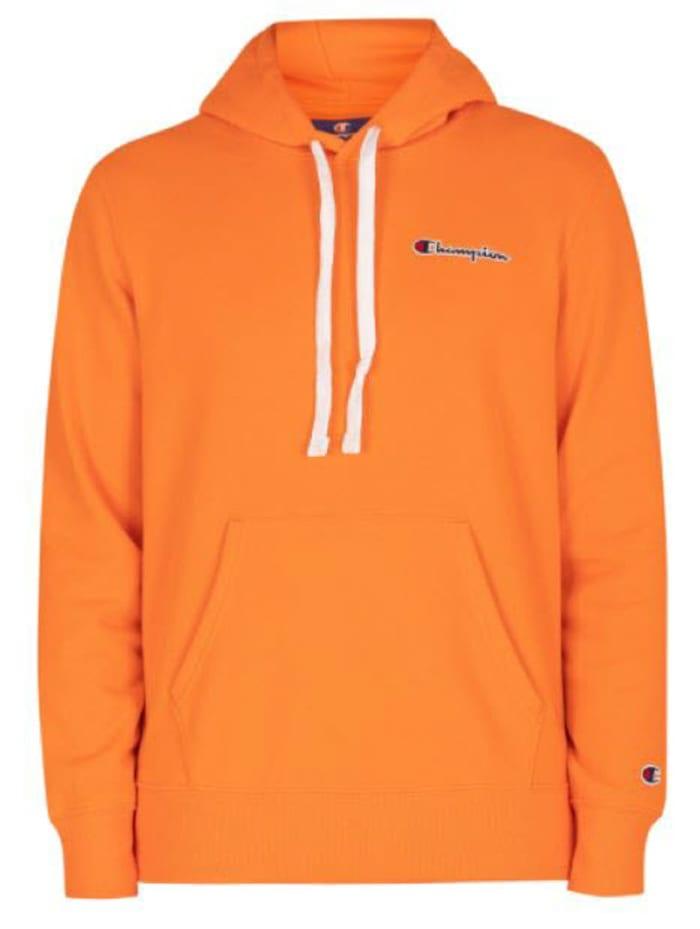 champion -  Hoodie Comfort Chest Logo  Orange