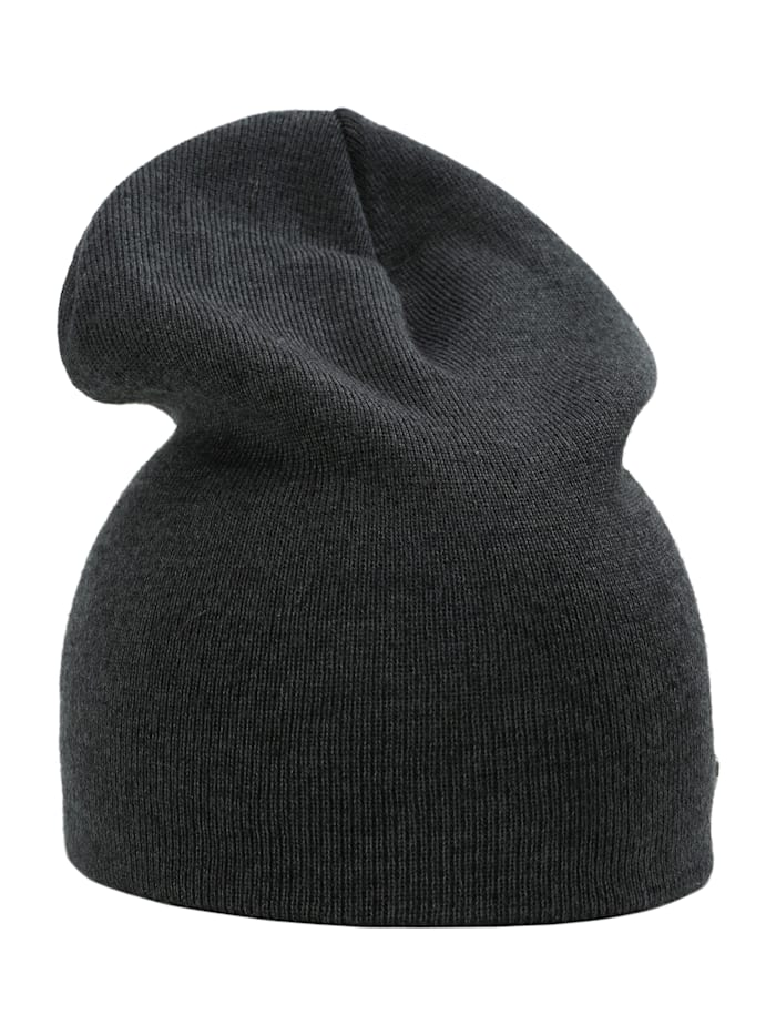 sätila of sweden - Beanie S.F. in Feinstrick-Optik  dark grey