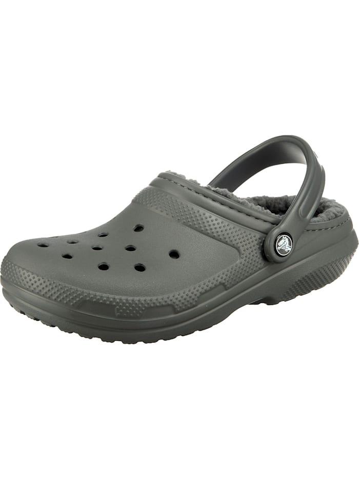 crocs - Classic Lined Clog TTl/TTl Clogs  grau
