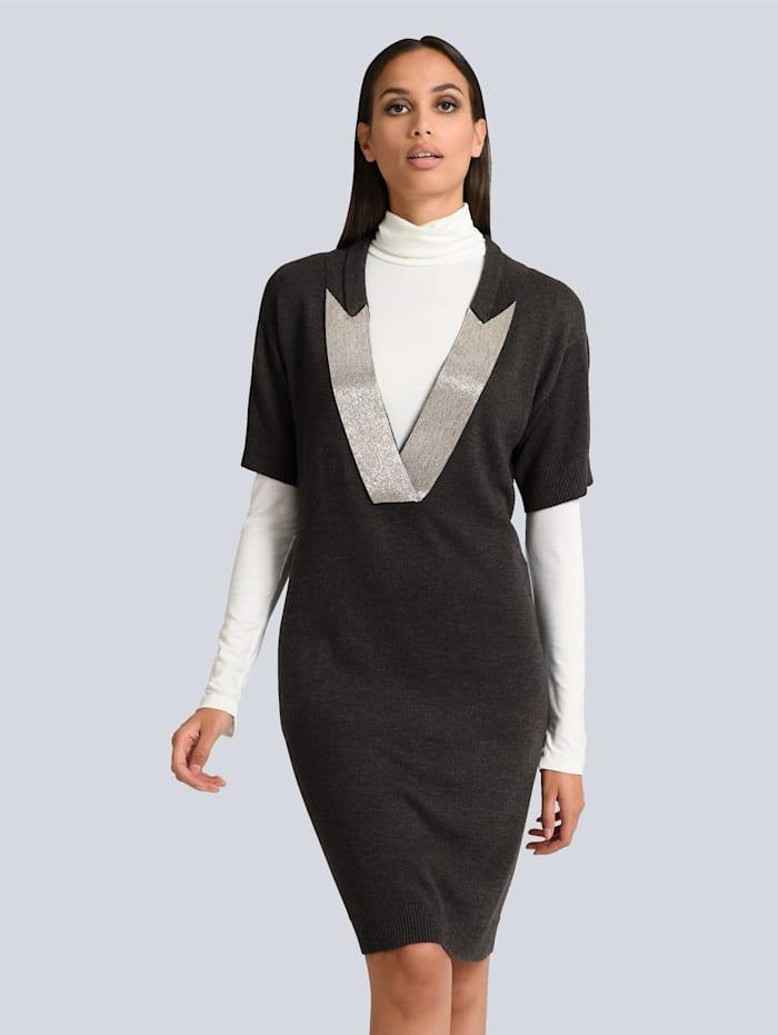 alba moda - Kleid  Anthrazit