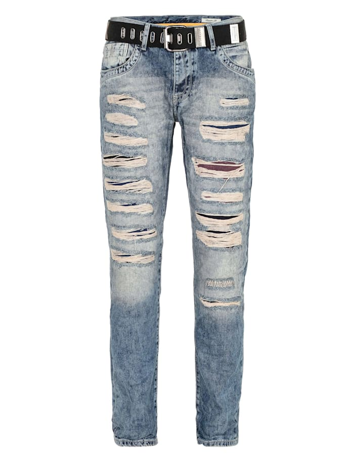 cipo & baxx - Jeans mit Ripped Details in Straight-Fit  Standard