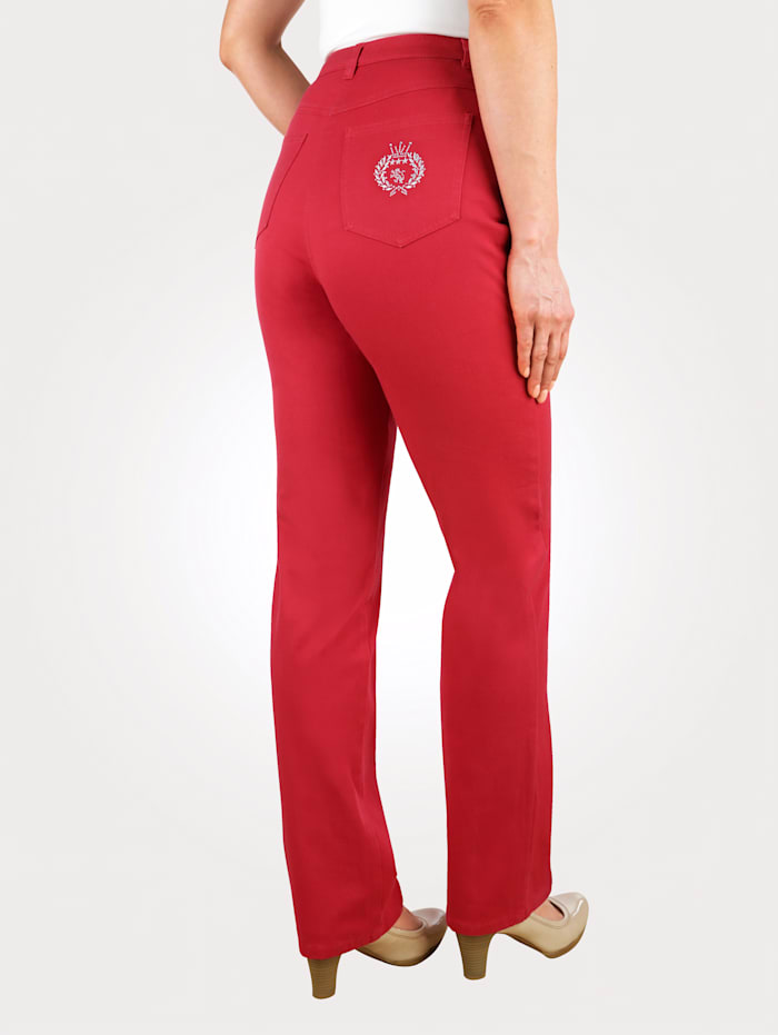 Jeans Paola Rood