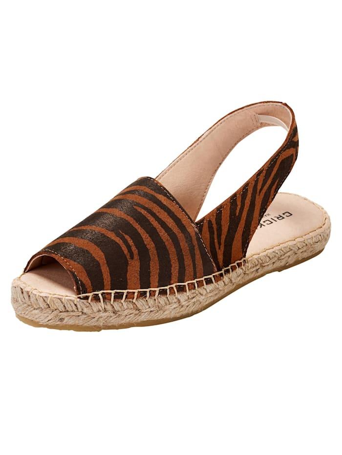 crickit - Sandale Lisa  zebra cogn