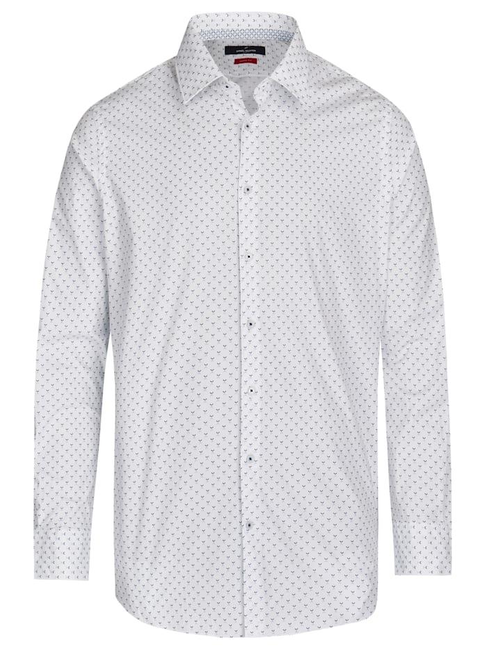 daniel hechter - Hemd mit minimalistischem Digitaldruck  steel blue