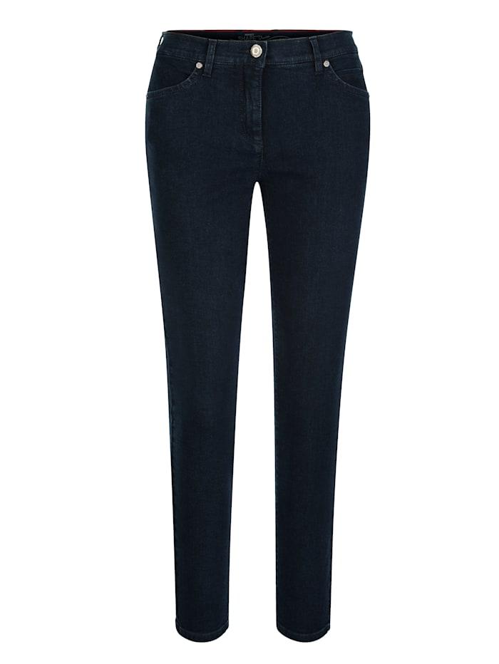 Jeans Toni Donkerblauw