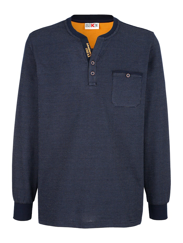 Shirt Roger Kent Marine::Geel