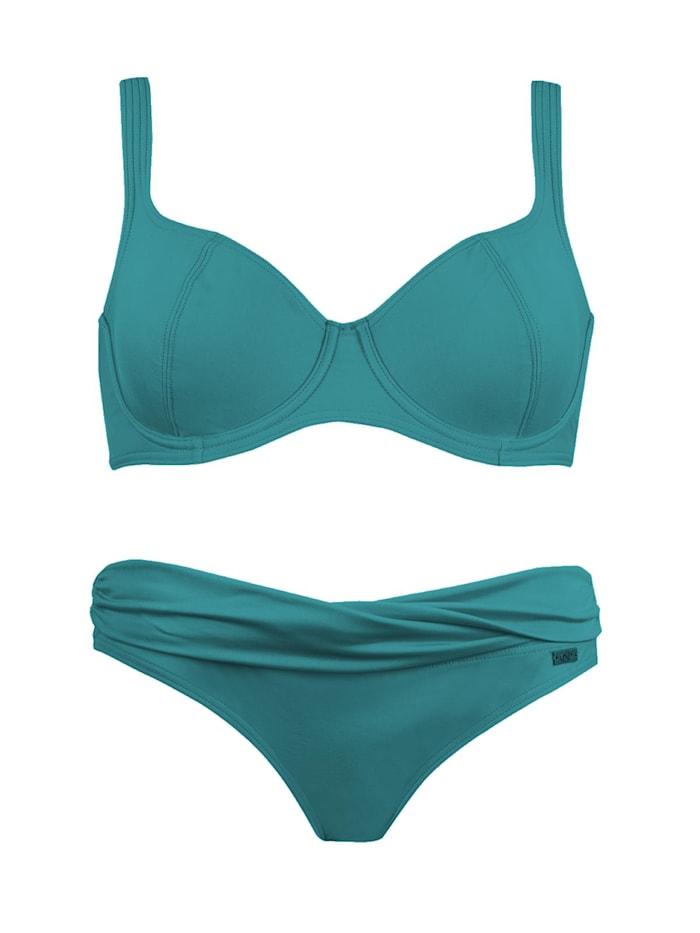 Bügel Bikini Naturana SMARAGD
