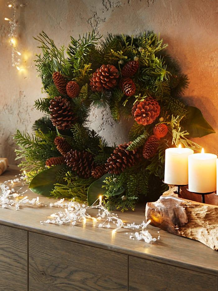 Kerstkrans Globen Lighting Groen
