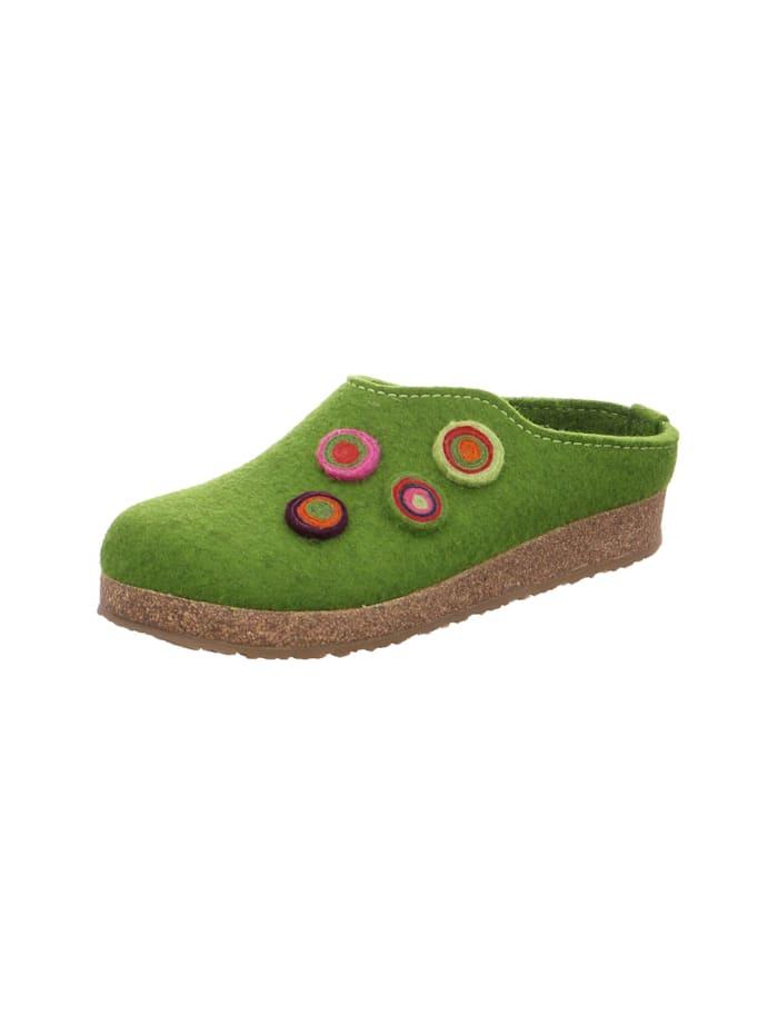 Hausschuhe Haflinger grün
