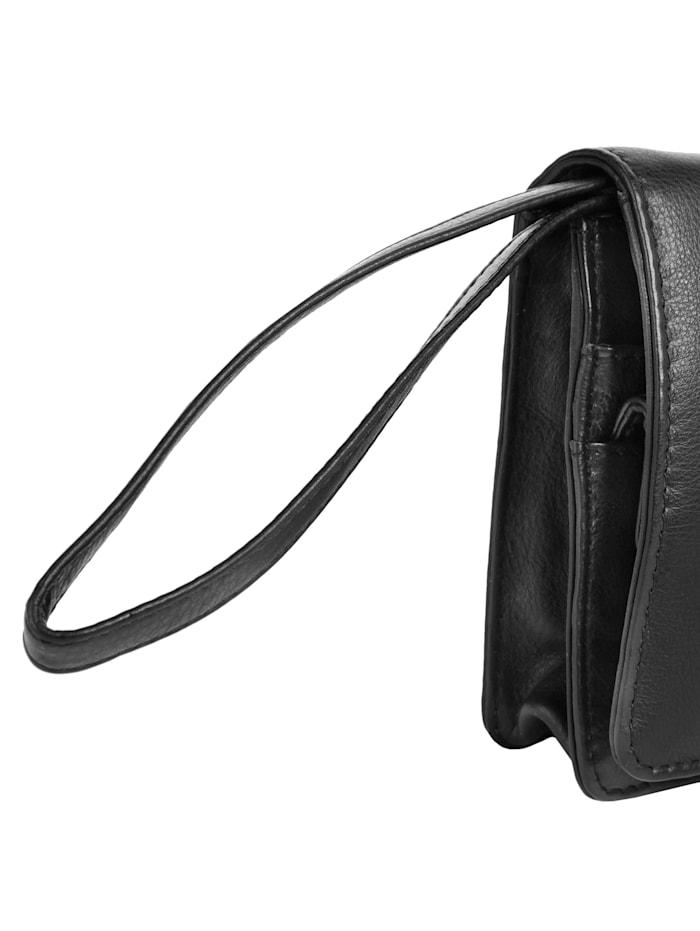 bodenschatz - Handgelenk Tasche  schwarz