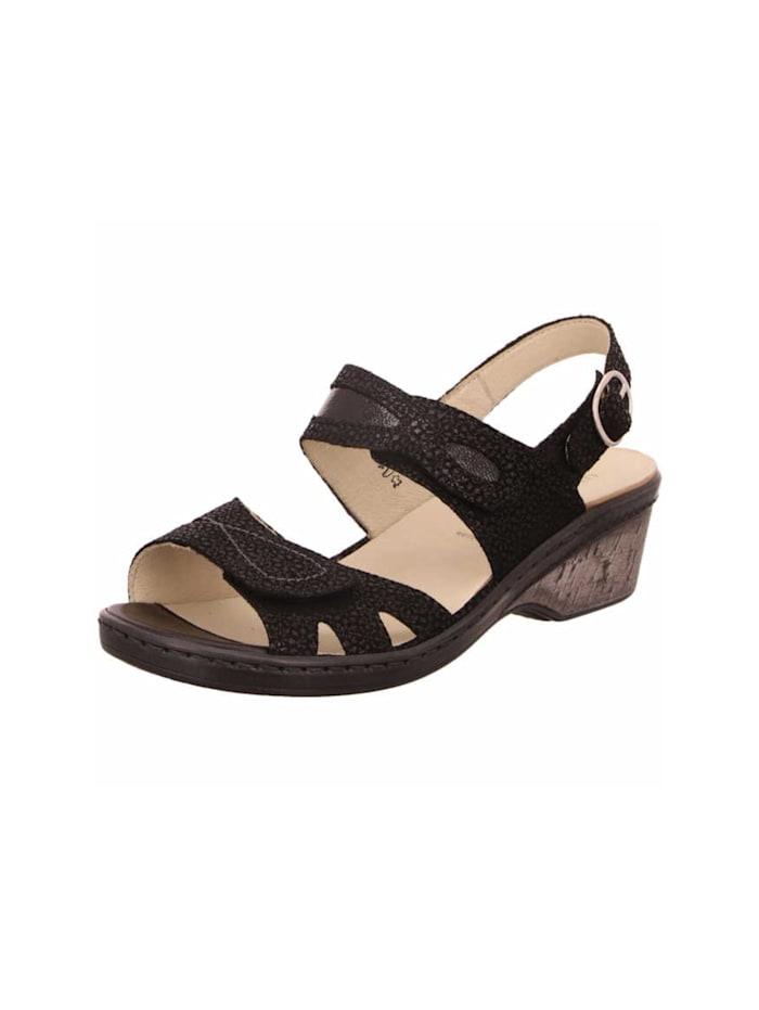 waldläufer - Sandale Sandale  schwarz