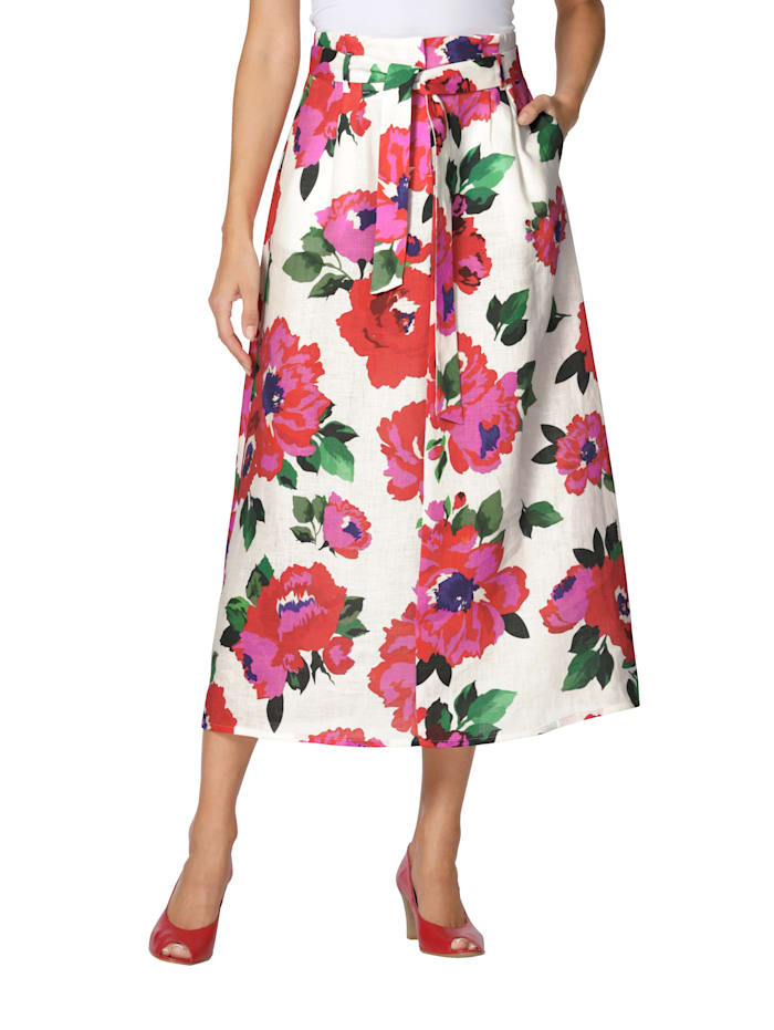 Rok AMY VERMONT Offwhite::Rood::Groen