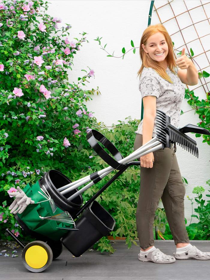 Image of Garten-Werkzeug-Trolley UPP schwarz