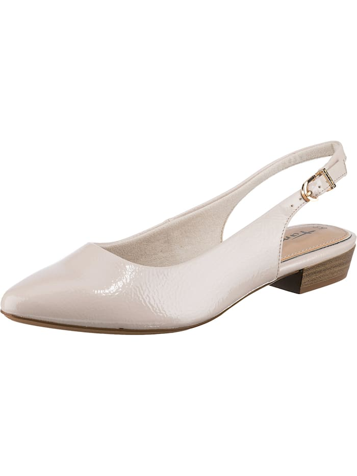 tamaris - Sling-Ballerinas  weiß Modell 1