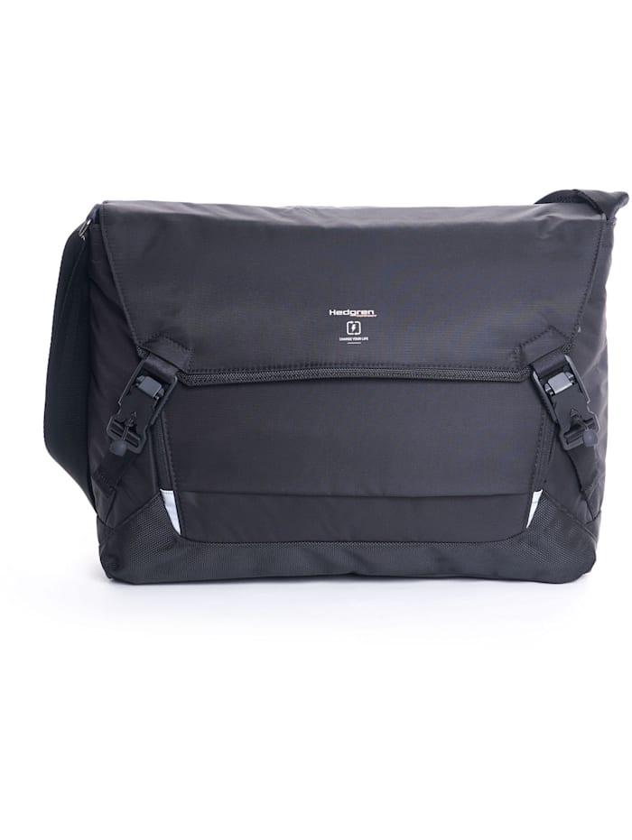 hedgren - Link Tie Messenger RFID 42 cm Laptopfach  black