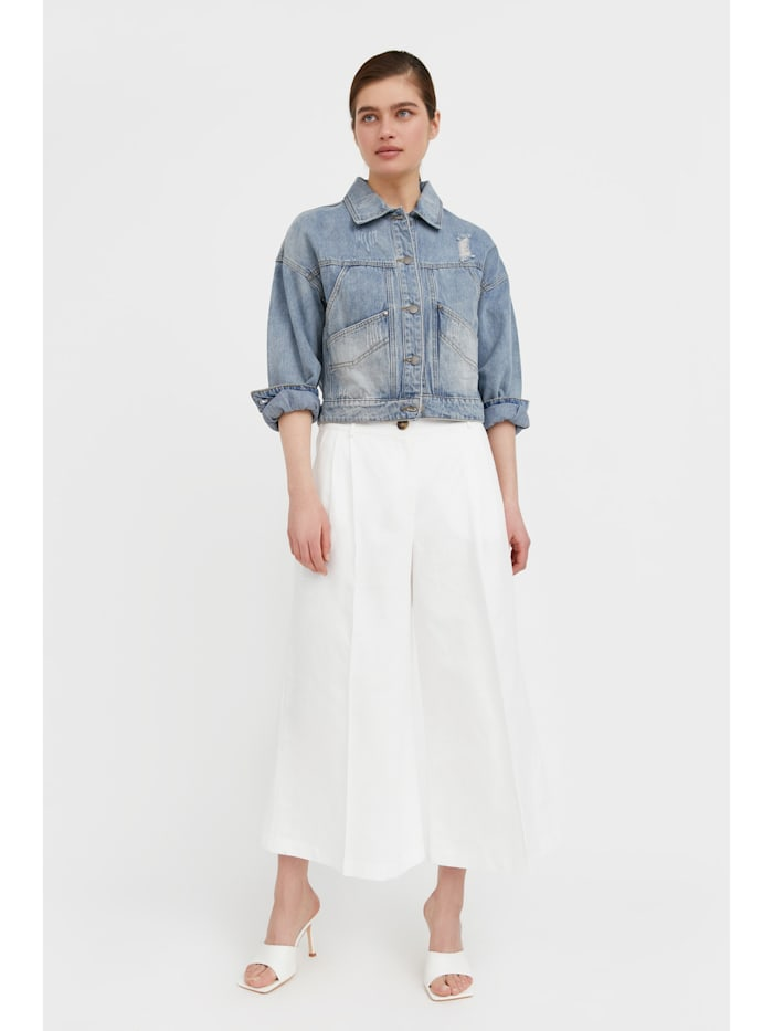 finn flare - Jeansjacke im lässigen Oversize-Schnitt  light blue