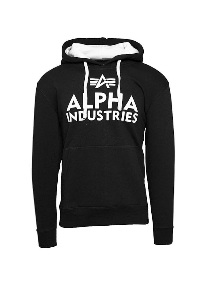 alpha industries - Kapuzenpullover Foam Print Hoodie  schwarz