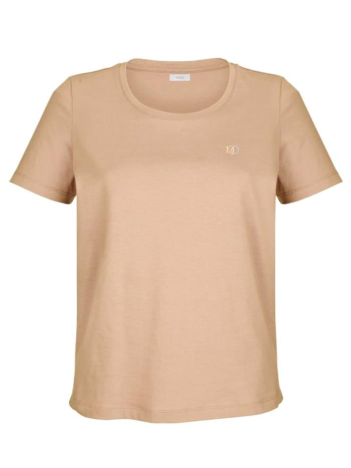 Shirt MONA Hazelnoot