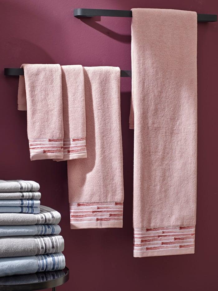 Handdoeken Mahòn Kleinmann roze