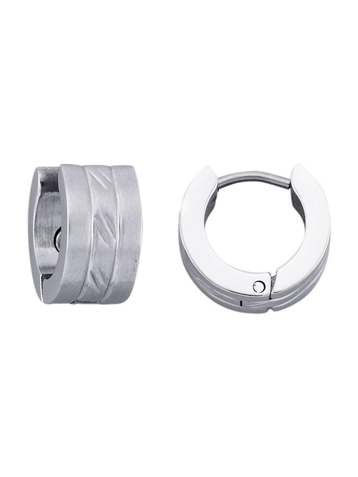 Klapcreolen Magnetic Balance Zilverkleur