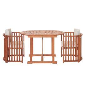 miaVILLA - Balkon-Set, 3-tlg. Brasi...